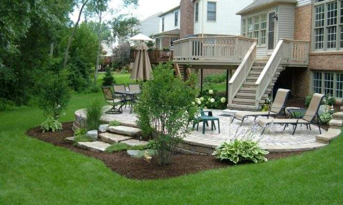Walkout Basement Landscaping Ideas Moviepulse