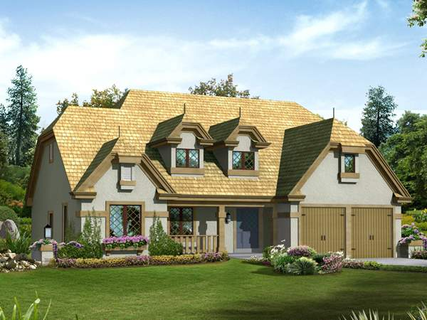 Waltham Forest Tudor Home Plan House Plans