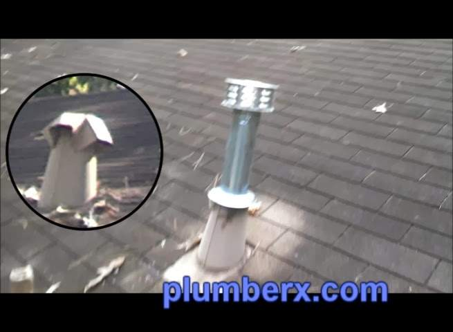 Water Heater Natural Gas Vent Out Through Garage Roof