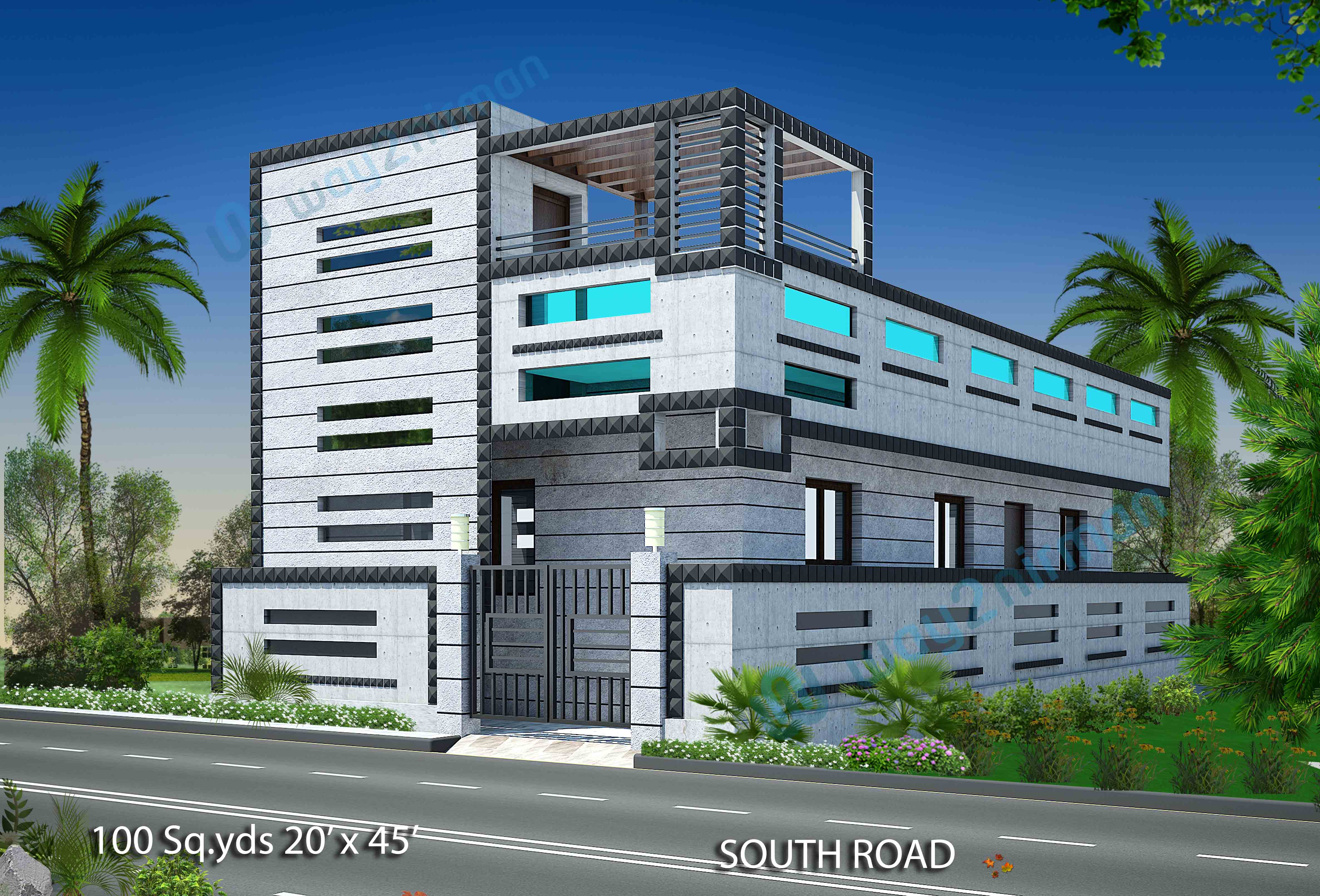 Way Nirman Yds South Face House Bhk