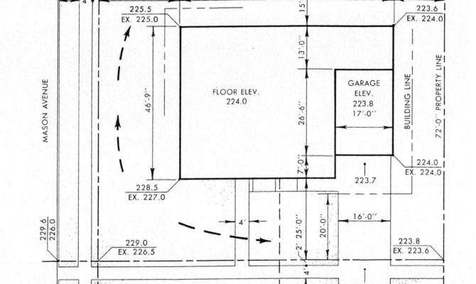 Wednesday Arch Plot Plan Example House Floor Home Plans