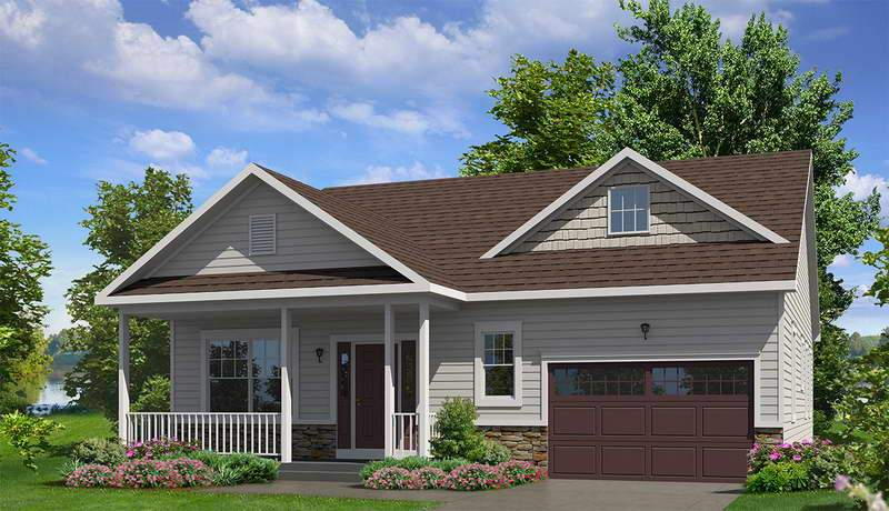 Western Style Popular Home Ranch Homes House