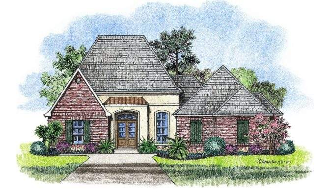 William Country French Home Plans