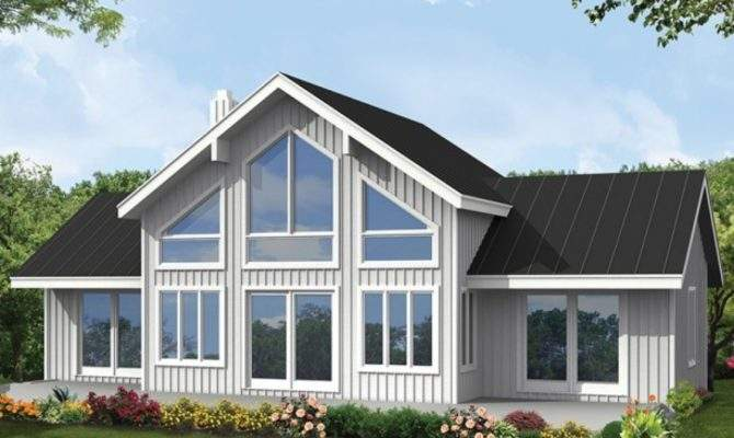 Windows Front House Architectural Designs