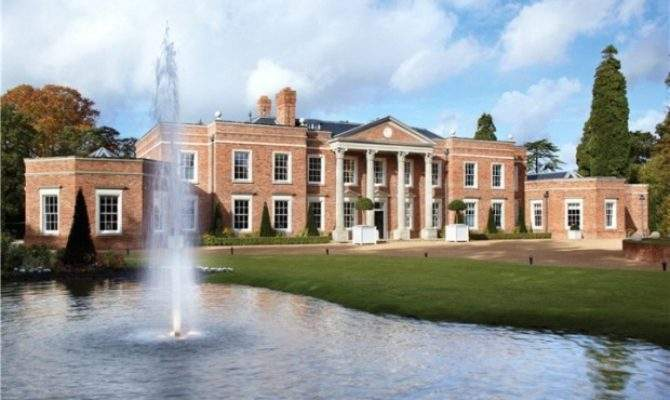 Windsor Park Hall Majestic Neoclassical Mansion Sale