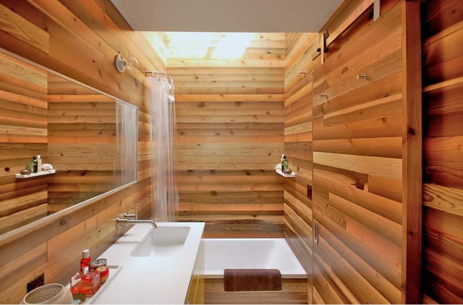 Wooden Bath House Would Fit Perfectly Into Any Japanese Home