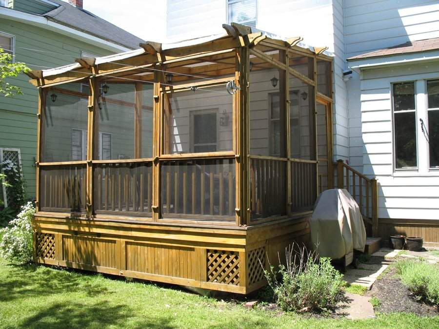 Wooden Box Puzzle Plans Screened Deck