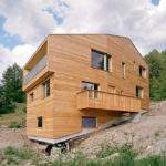 Wooden House Slope Architects
