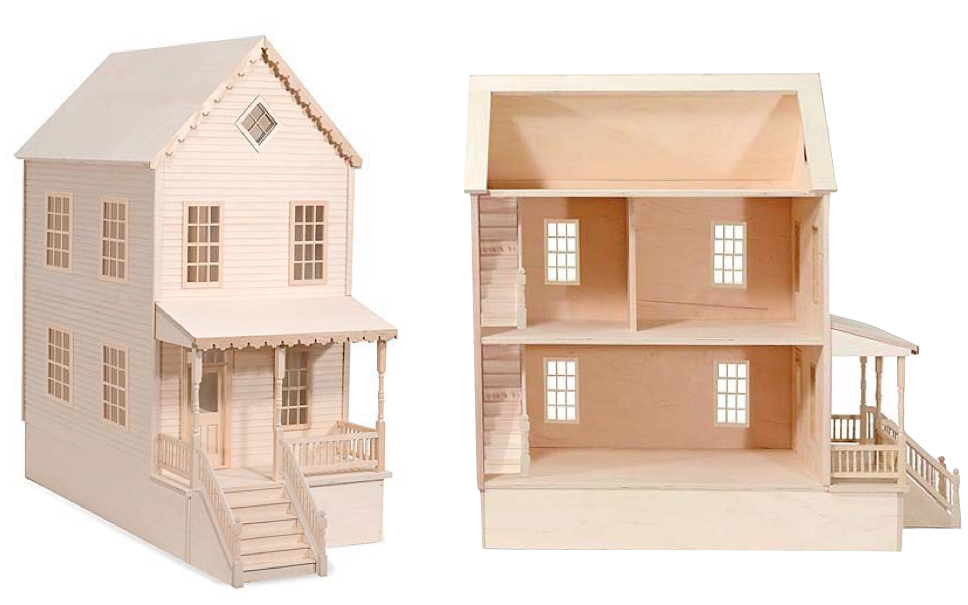 Woodwork Plan Wooden Doll House Pdf Plans