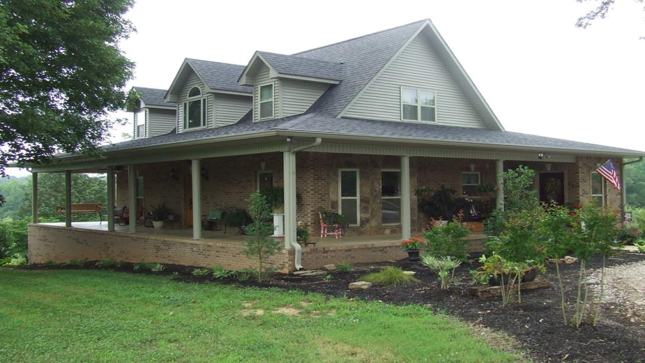 Wrap Around Porch House Plans Nice Ranch